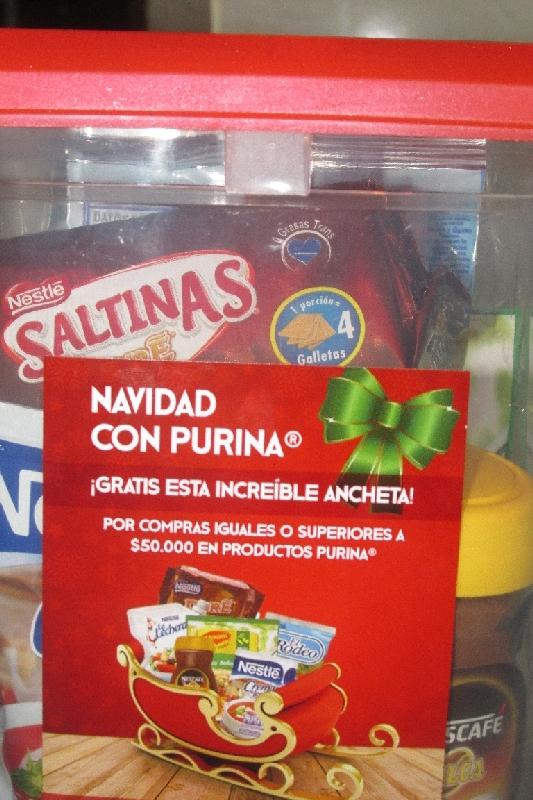 Le cadeau de Noël de Nestlé-Colombie !