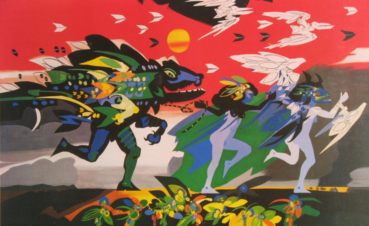 Un tableau d'Alejandro Obregón