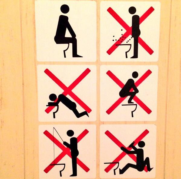 Les toilettes de Sotchi et leurs règles valent le détour