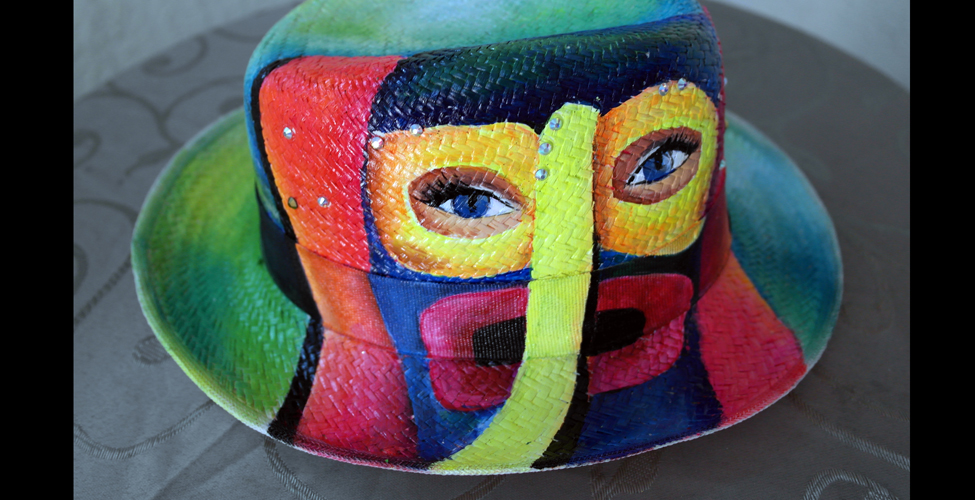 Las proporciones de la máscara de la arcilla para la persona